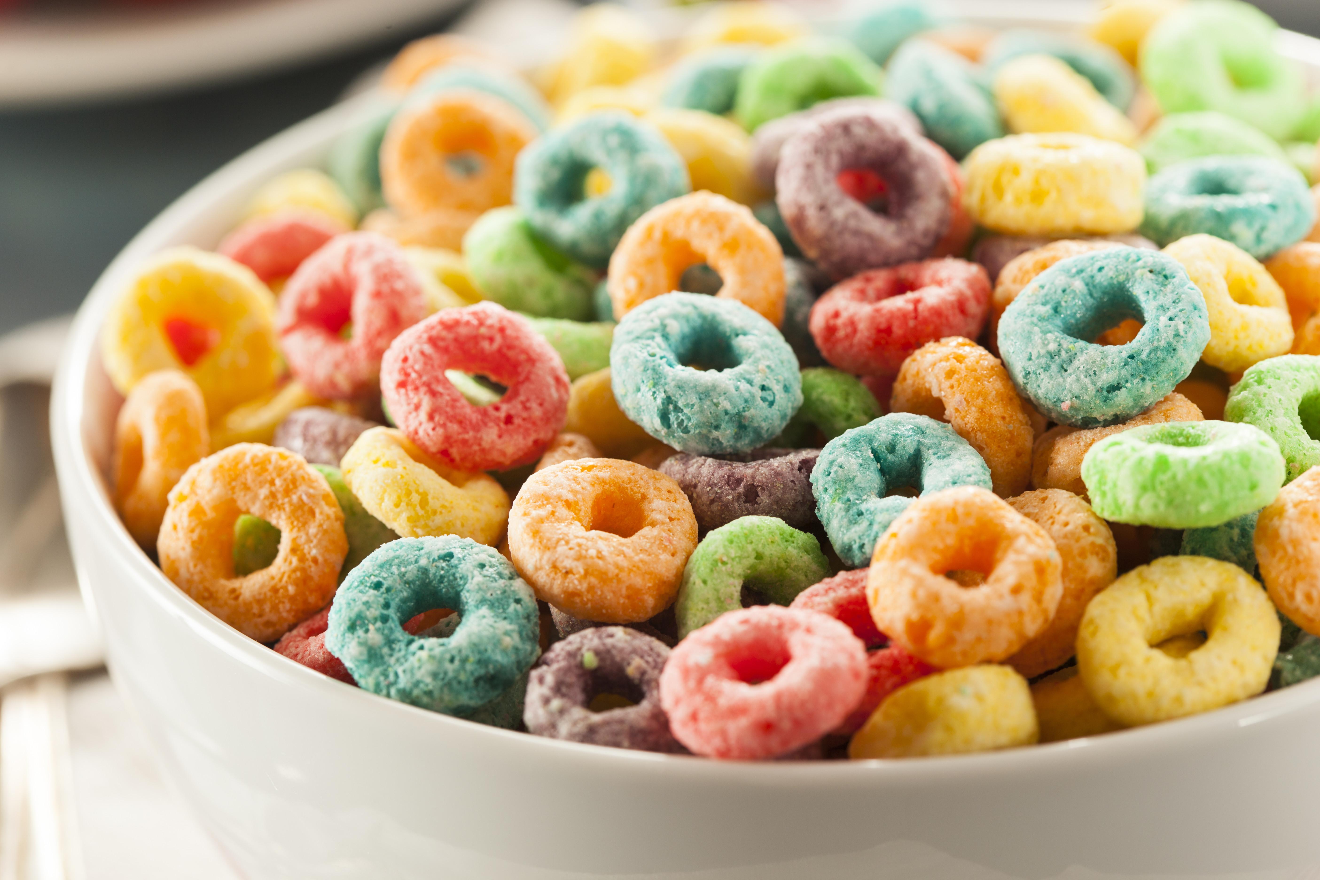 Multi Color Breakfast Cereal