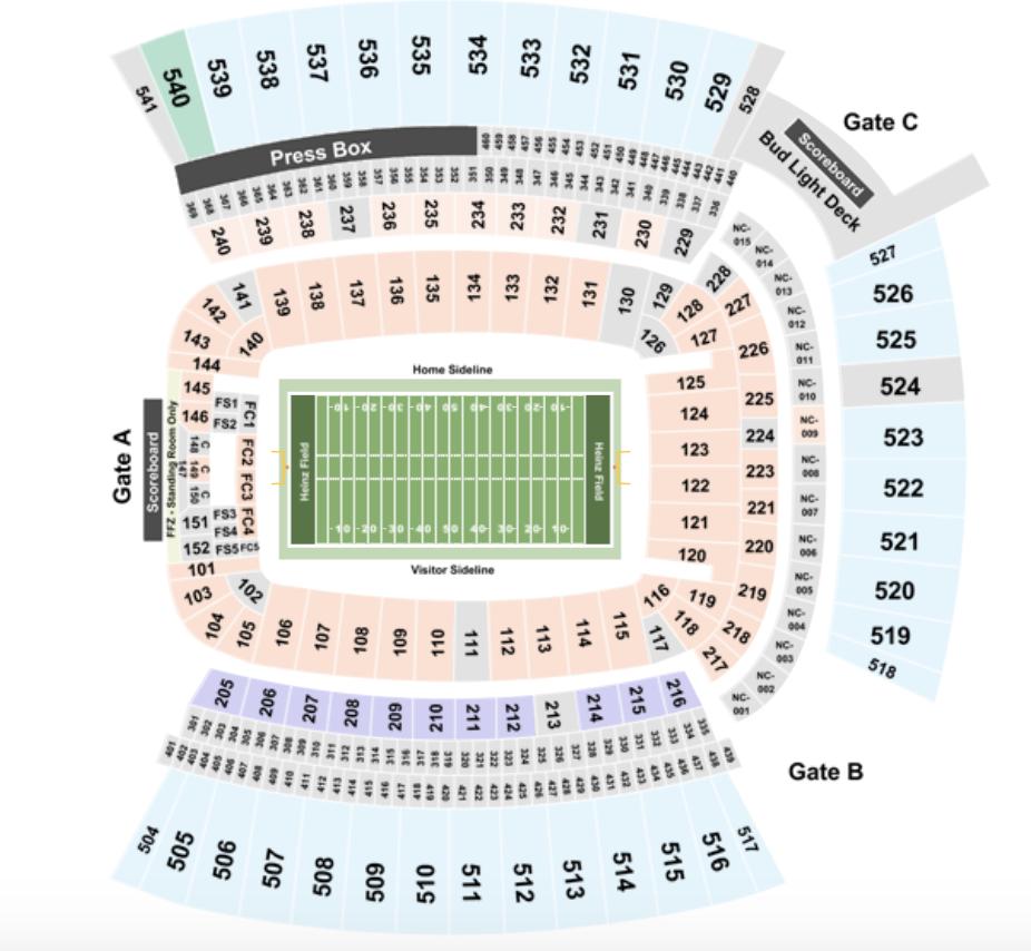 Pittsburgh Steelers Tickets & Schedule   TicketIQ