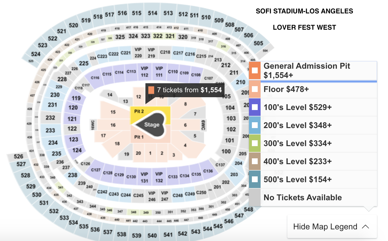 How To Get Cheapest Tickets For Taylor Swift S 2020 Lover Fest East And West