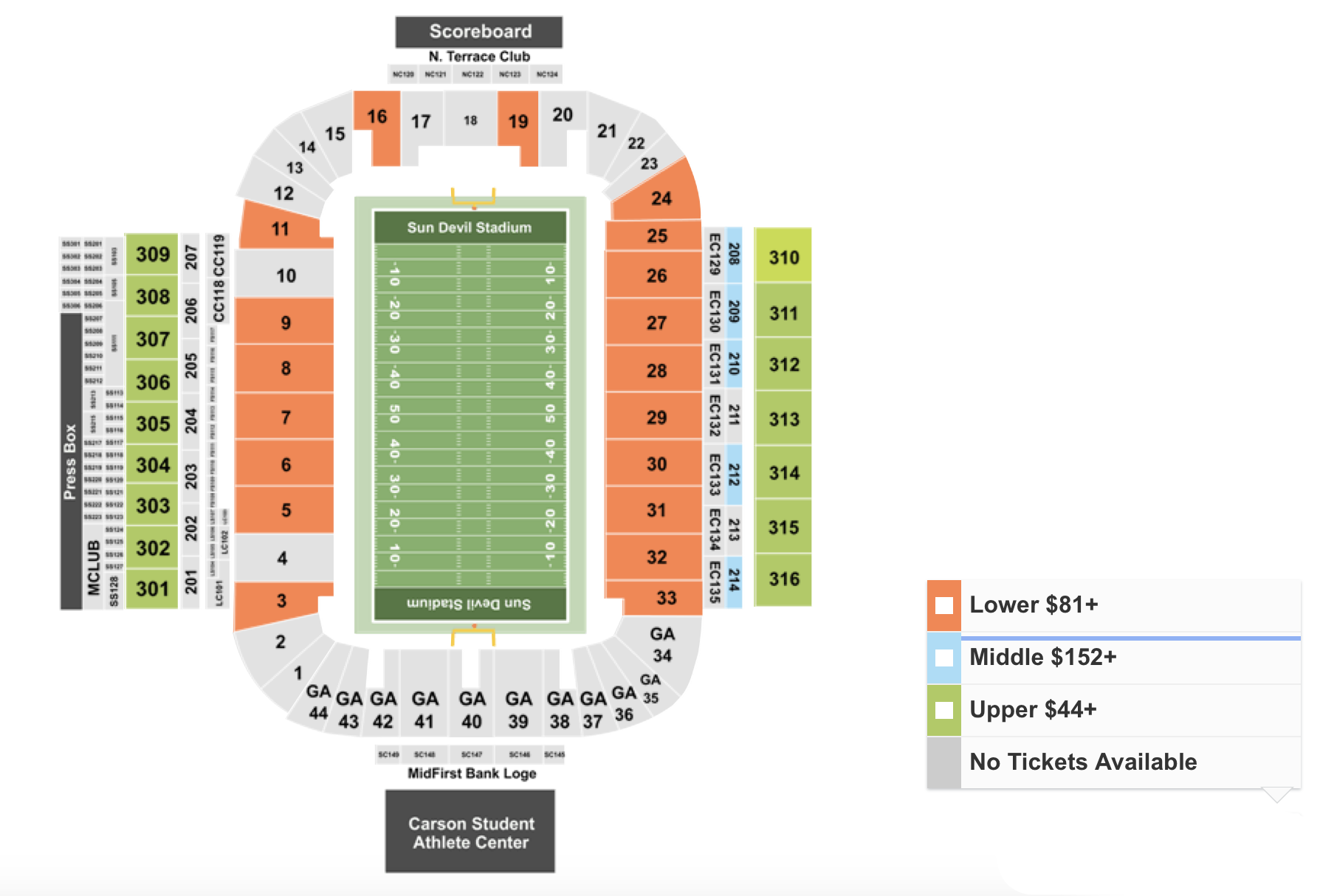 How To Find The Cheapest Arizona State vs USC Tickets + Face Value Options