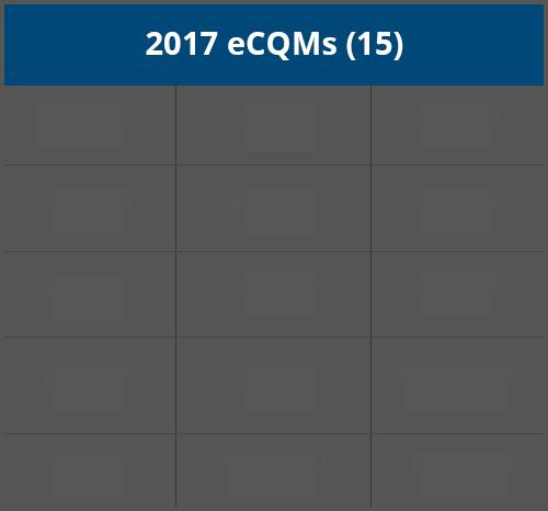 15 eCQMs 2017