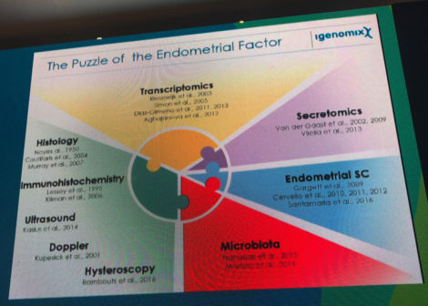 slide infertility endometrial factors