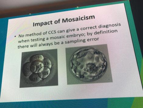 slide impact of mosaicism
