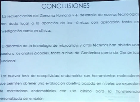 conclusions about the importance of endometrial receptivity for pregnancy