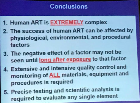 conclusions influence factors in fiv results