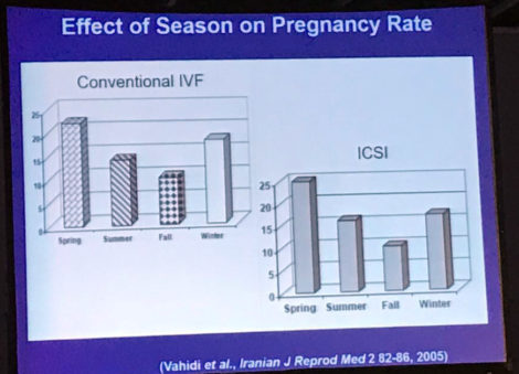 slide influence of seasons of the year on fertility