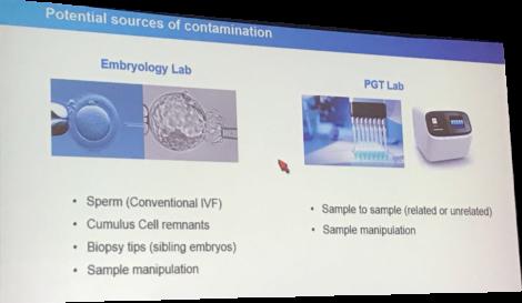 ASRM2017 contamination mosaicism