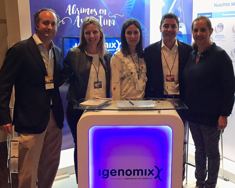 Igenomix team during the RED LARA 2017 congress