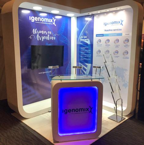 igenomix stand at the congress redlara