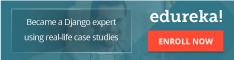 Python django training and certification 18