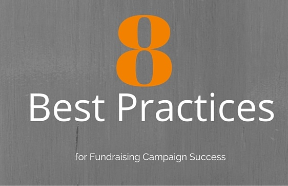 8 best practices for fundraising campaign success