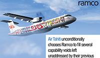 French airline, Air Tahiti Trusts Ramco