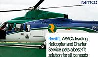 Leading charterer, Hevilift Group, chooses Ramco
