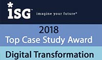 ERP Digital Transformation Case Study: ISG