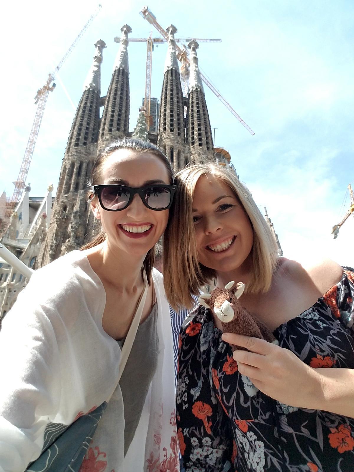 Erica in Barcelona