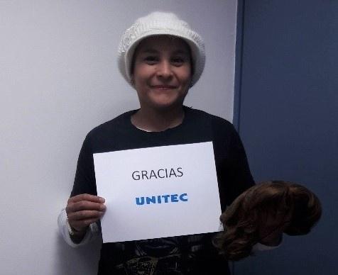 Dona Campus Ecatepec 21 pelucas oncológicas al INCAN