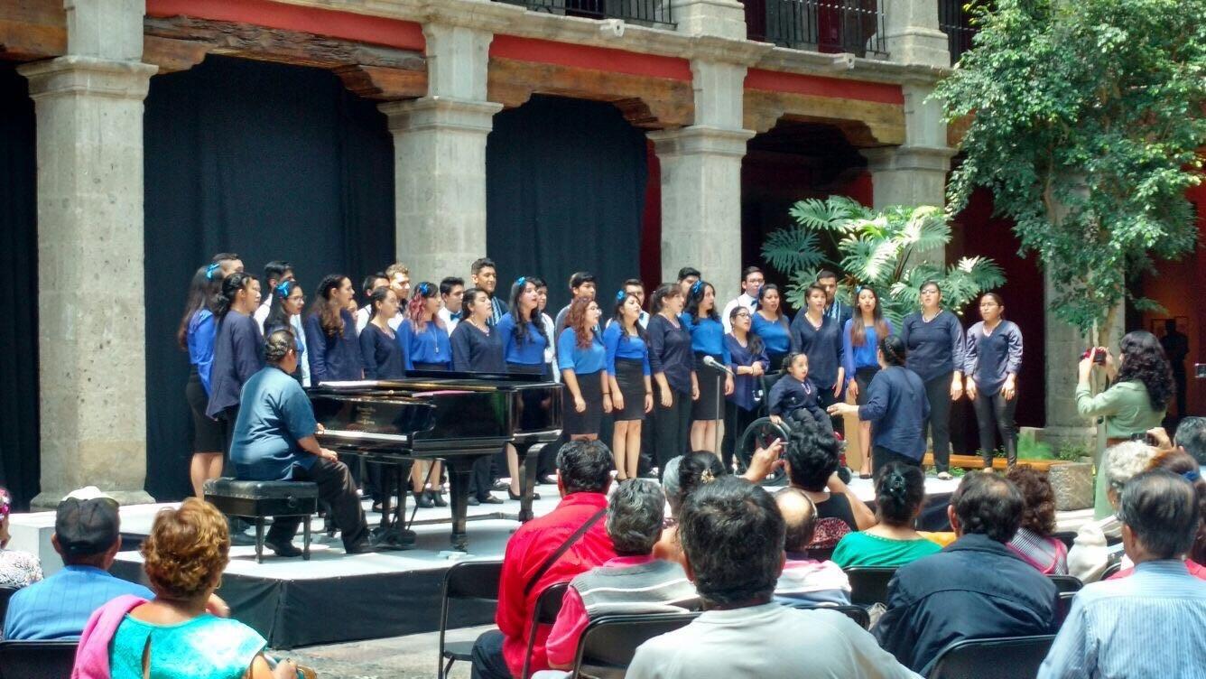 Coro de la UNITEC se presenta en el Museo José Luis Cuevas