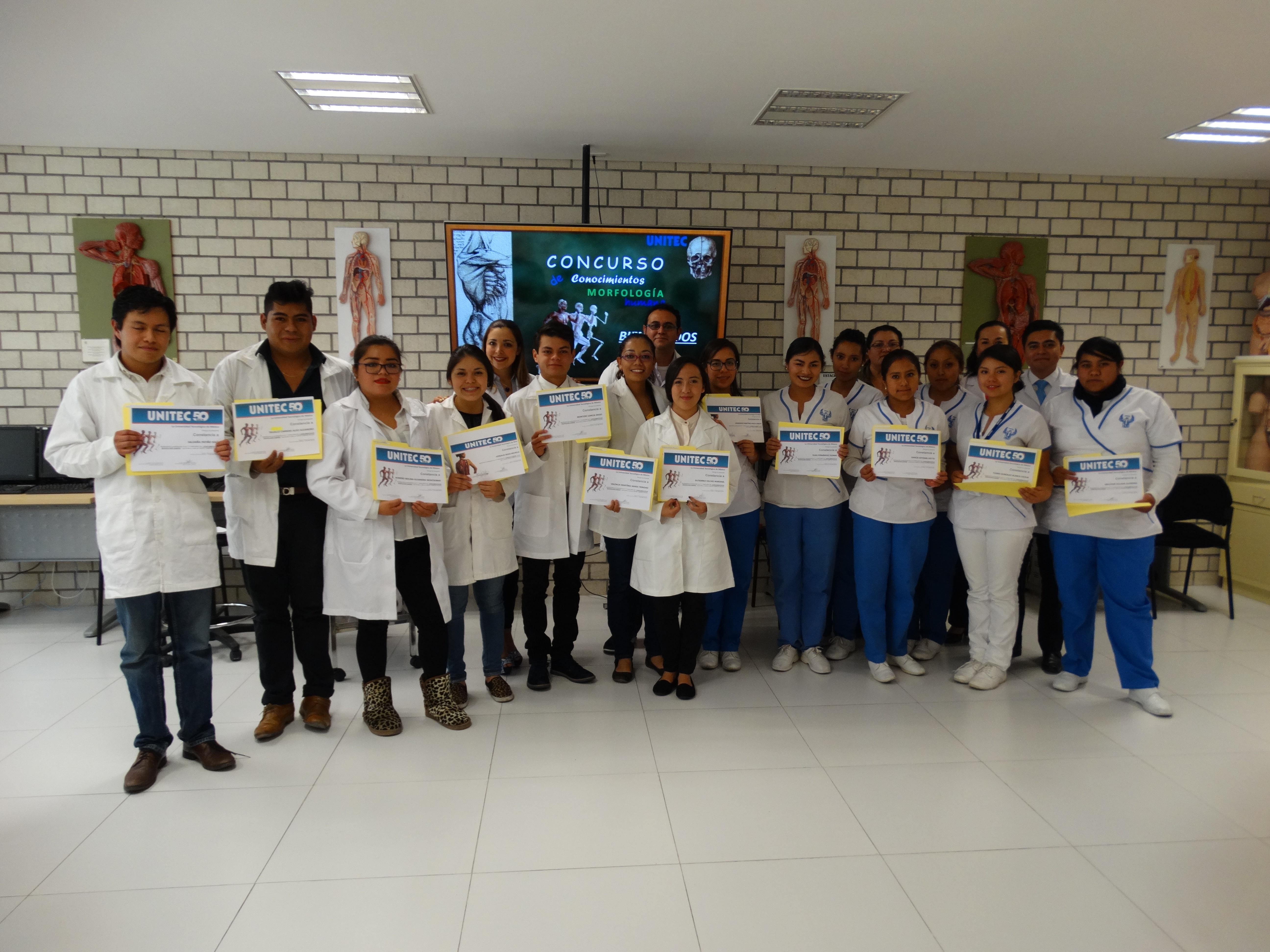 Campus Toluca realiza Concurso de conocimientos de Morfología Humana