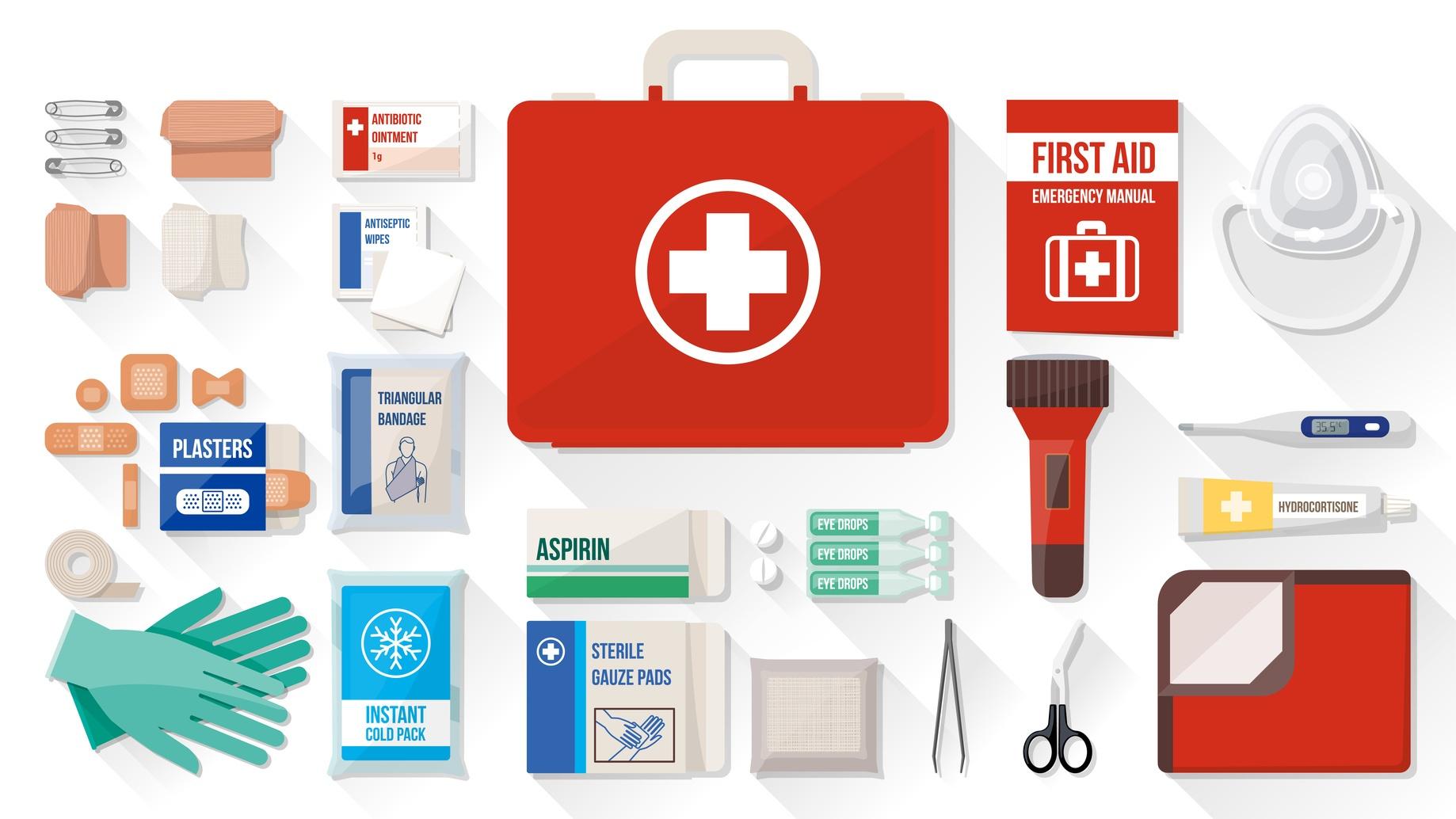 C mo armar un botiqu n de primeros auxilios 19 elementos - Cosas necesarias para una casa ...