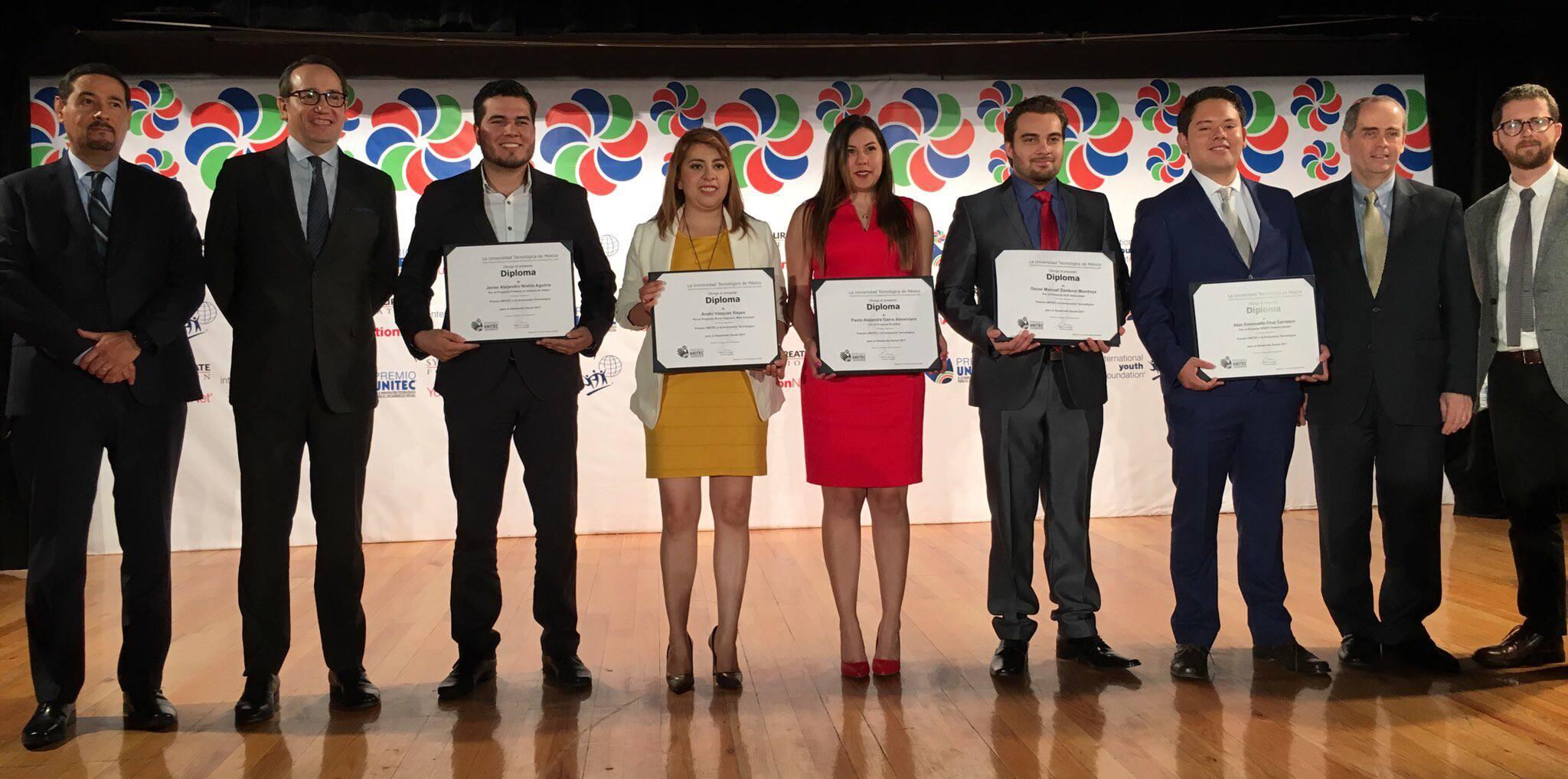5 proyectos innovadores reconocidos con el Premio UNITEC 2017