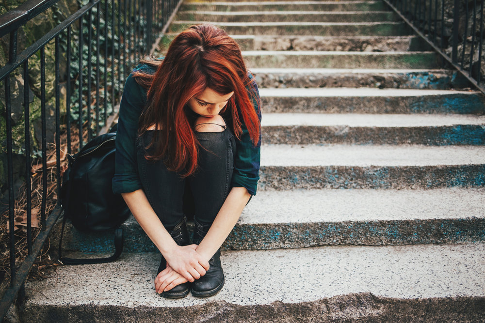 Síntomas de un adolescente en depresión