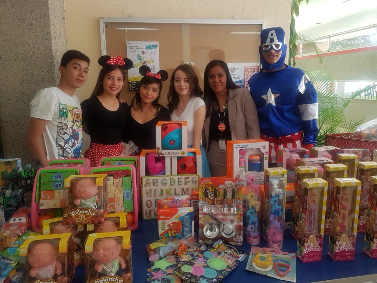 UNITEC y el Antiguo Hospital Civil de Guadalajara festejan el Día del Niño