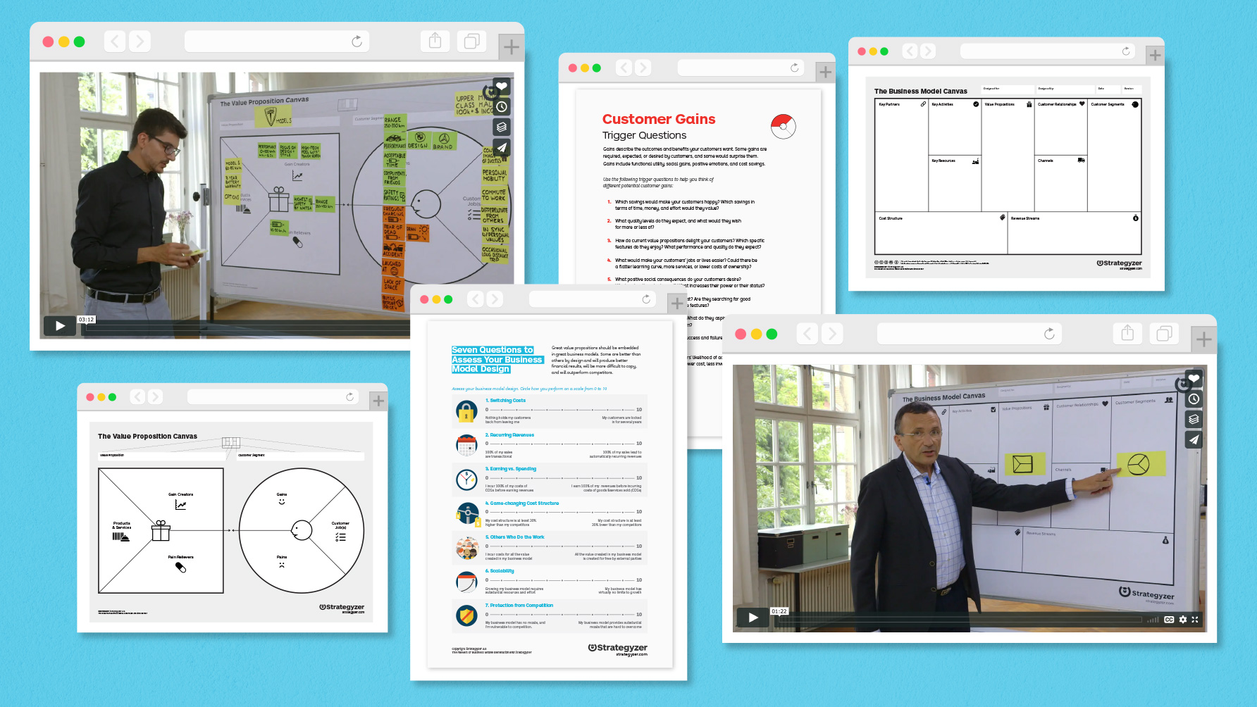 Free Online Course Materials for the Business Model Canvas