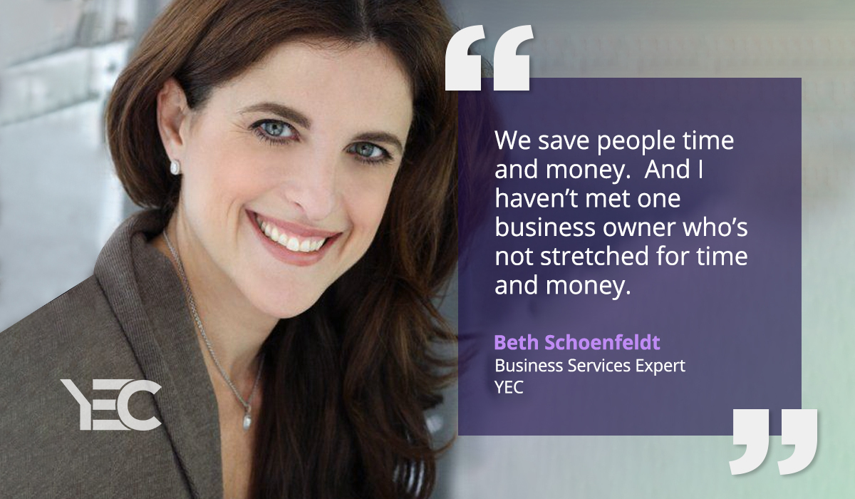 Beth Schoenfeldt Helps YEC Members Save Time and Cut Expenses