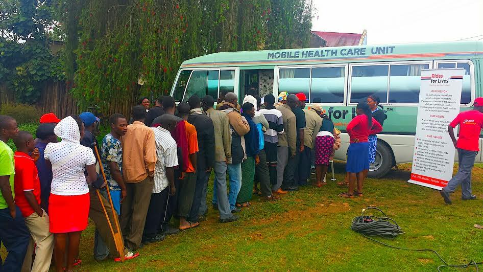 YEC Member Chris Ategeka's Initiative to Improve Medical Access in Rural Uganda