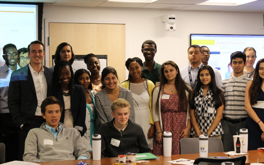 YEC Members Help Out at JA New England Summer Institute
