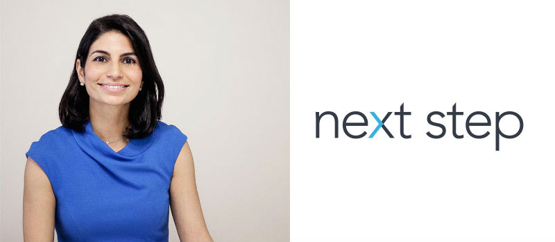 Welcome Shirin Oreizy, Founder & President at Next Step