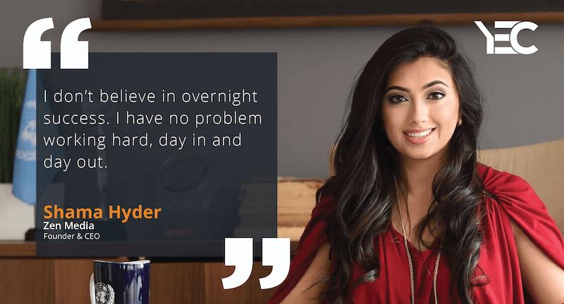 Spotlight: Shama Hyder