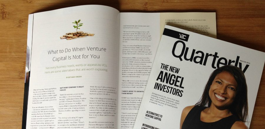 What to Do When Venture Capital Is Not for You