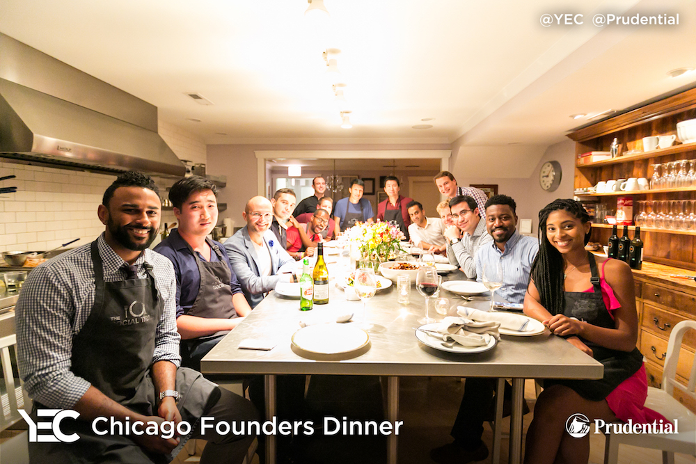 YEC Event Recap: Chicago Founders Dinner