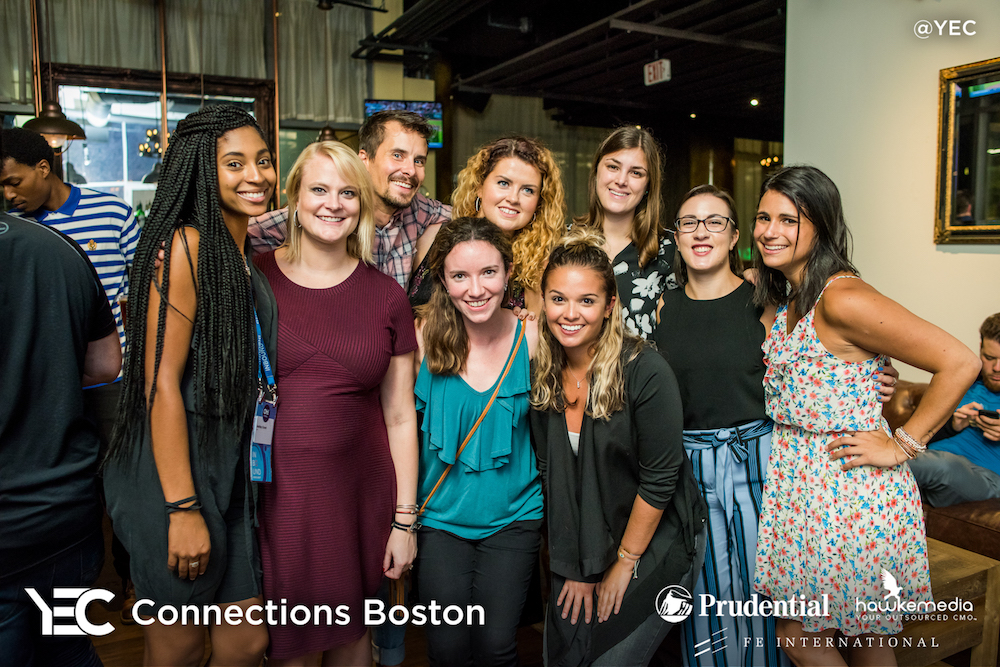 YEC Event Recap: YEC Connections Boston at INBOUND