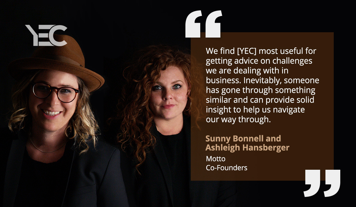 YEC Veterans Ashleigh Hansberger and Sunny Bonnell Transform Vices to Virtues in Their New Book
