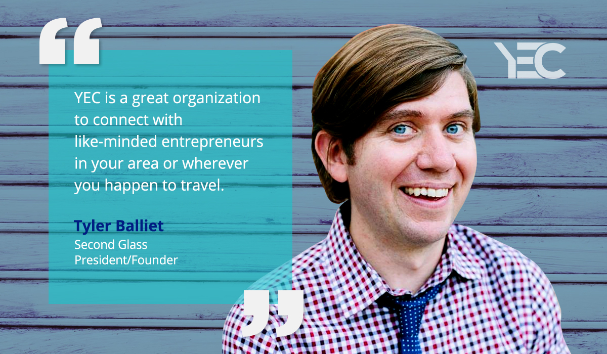 Tyler Balliet Leverages YEC Community for Connections and Advice