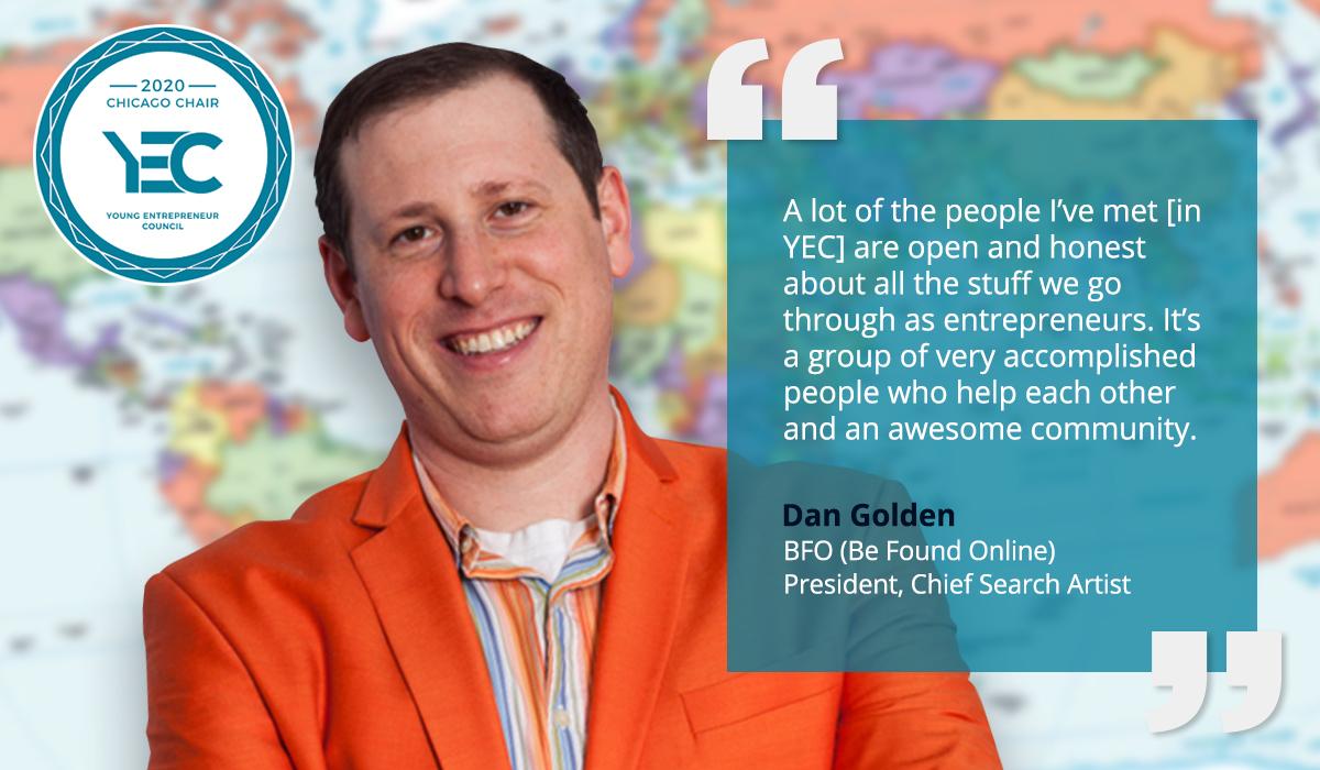 Dan Golden is YEC Chicago Group Chair