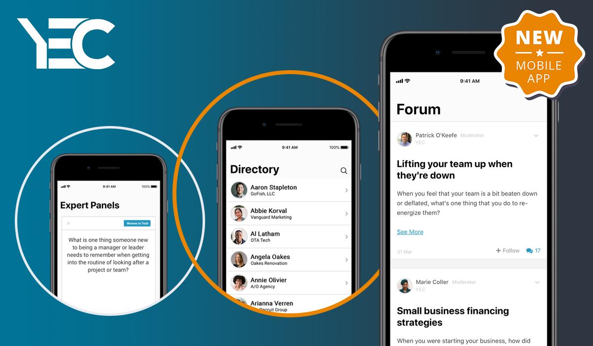 YEC Members: Mobile App Announcement