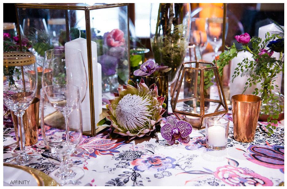 Purple Party Centerpiece Event Decor | BBJ Linen