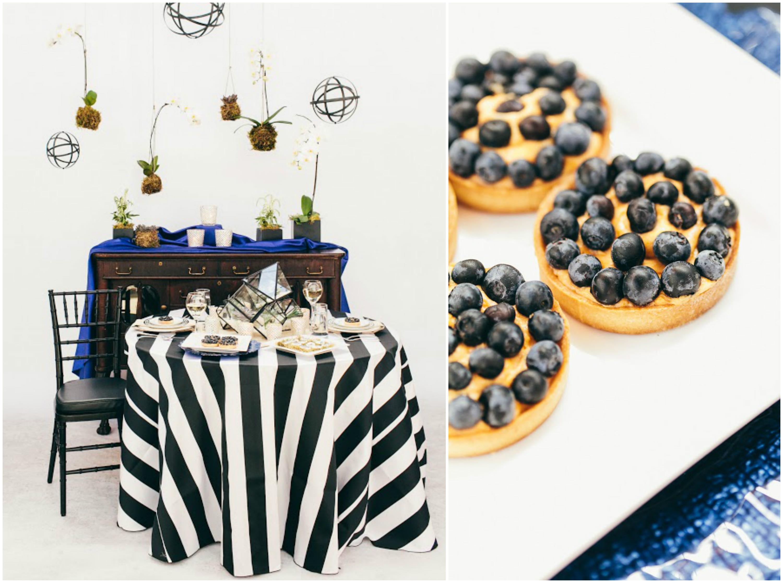 Black and White Table Event Decor | BBJ Linen