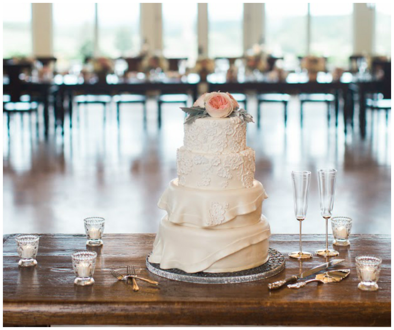 Wedding Cake Table Event Decor | BBJ Linen