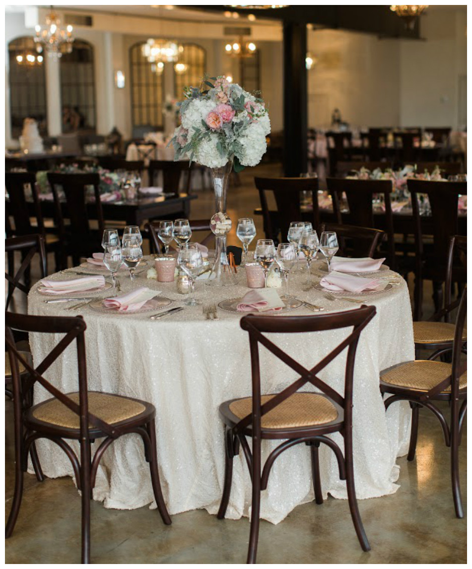 Romantic Wedding Table Decor | BBJ Linen