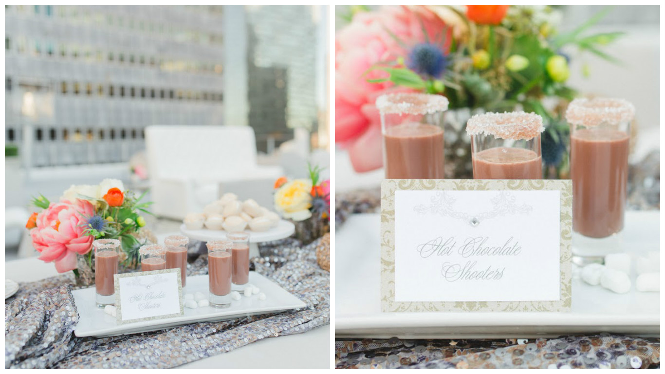 Outdoor Opulence Wedding Sweets Table | BBJ Linen