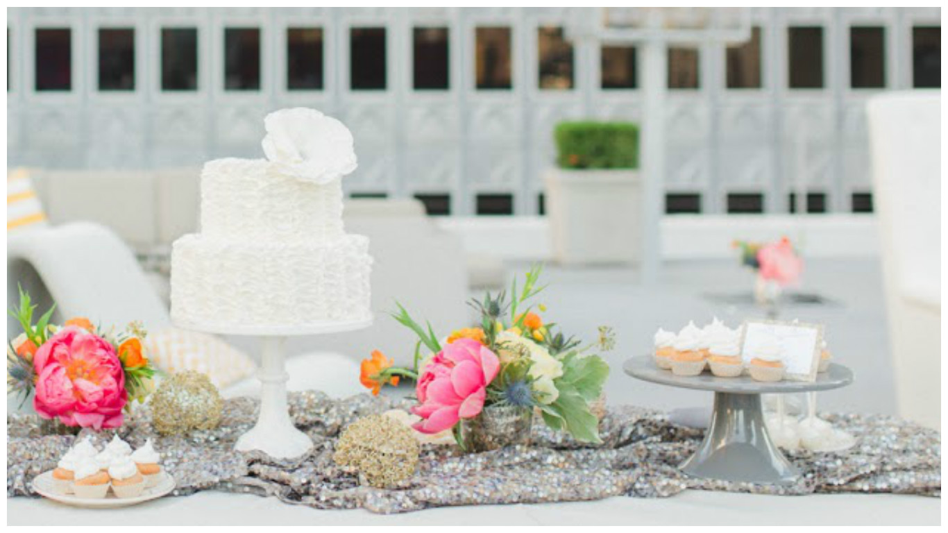 White Desserts Wedding Sweets Table | BBJ Linen