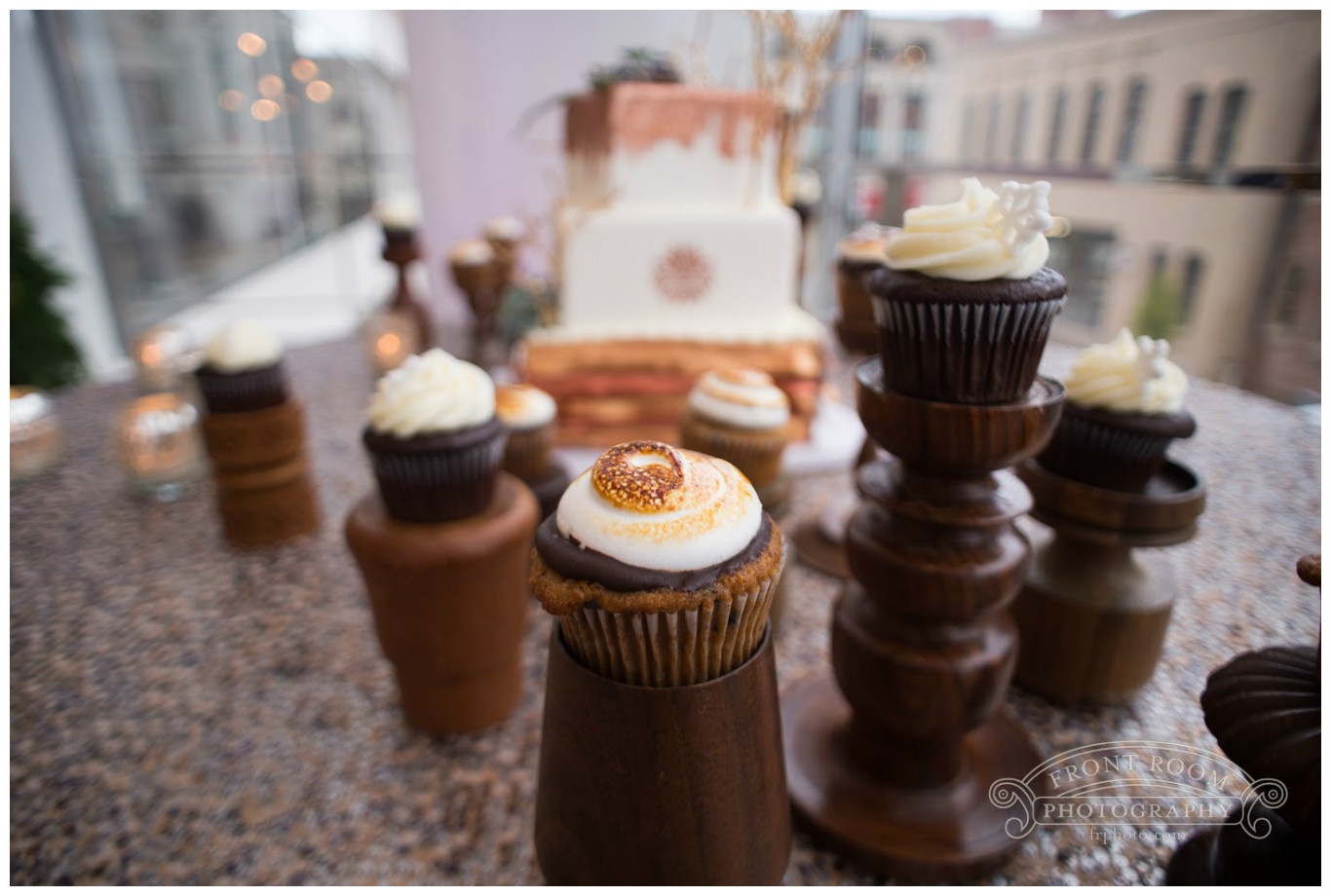 Wedding Cupcakes Event Decor | BBJ Linen