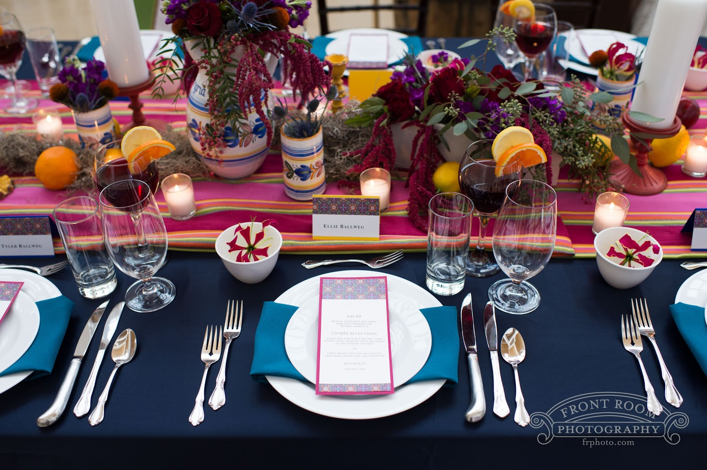 Summertime Sangria and Navy Elegance | BBJ Linen