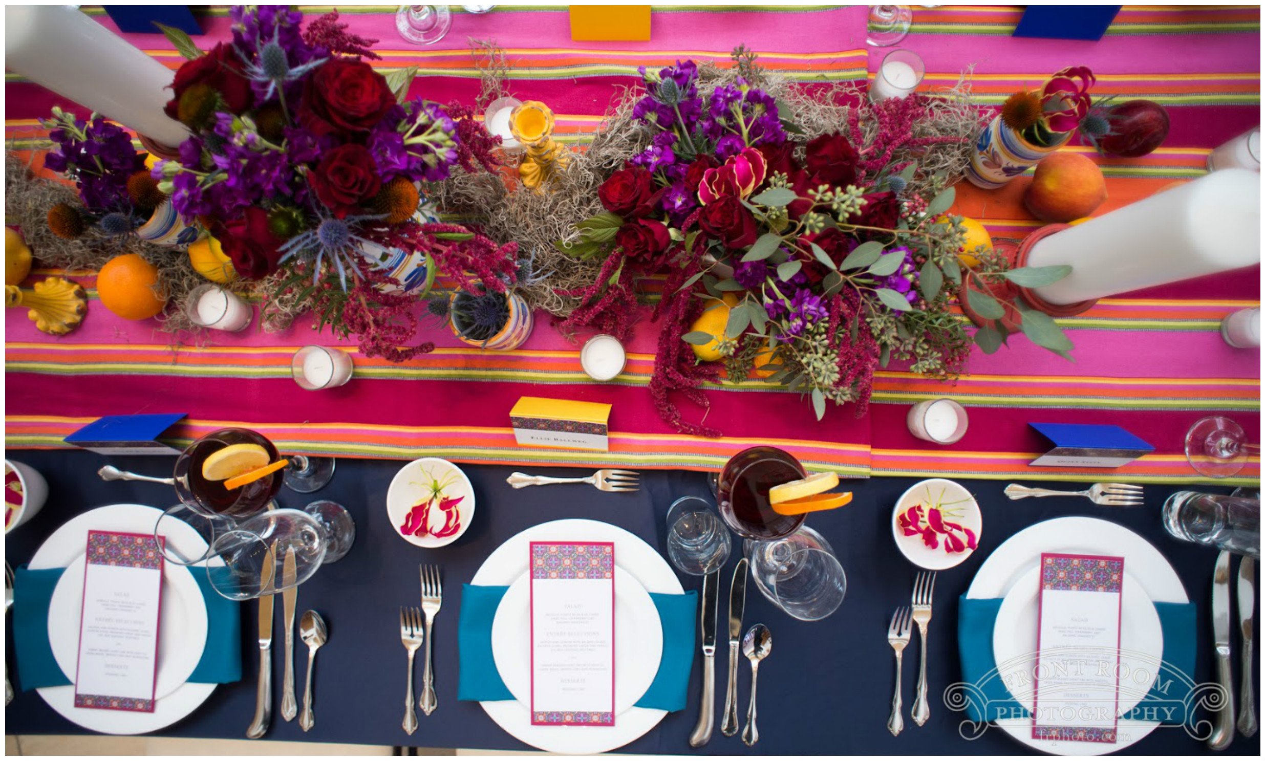 Color Party Centerpiece Event Decor | BBJ Linen