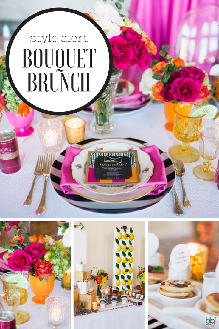 Style Alert: Bouquet Brunch