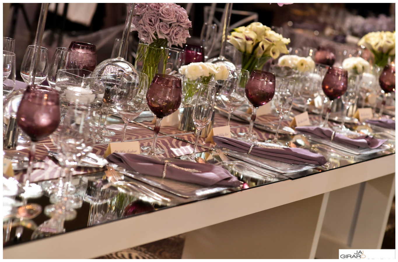 Smoky Lavender Table Decor | BBJ Linen